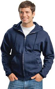 JERZEES Super Sweats Full-Zip Hooded Sweatshirt