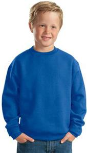 JERZEES Youth NuBlend Crewneck Sweatshirt