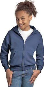 Hanes Youth Comfortblend Zip Hood Sweatshirt