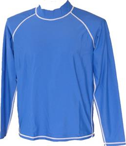 Adoretex Unisex Long Sleeve Rash Guard Swim Shirt