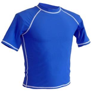 Adoretex Unisex Short Sleeve Rash Guard Swim Shirt