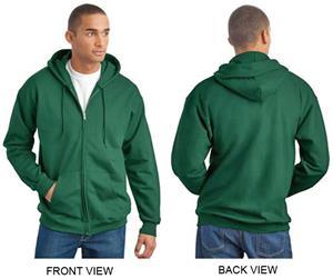 Hanes Ultimate Cotton Full-Zip Hooded Sweatshirt