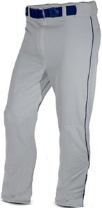 ALL-STAR Relaxed Fit Baseball Pants with Piping