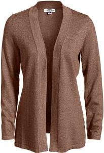 Edwards Womens Open Front Drape Cardigan
