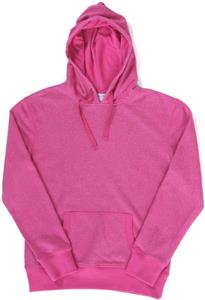 J America Ladies Glitter French Terry Hoodie