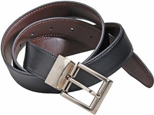 Edwards Unisex Reversible Leather Belt