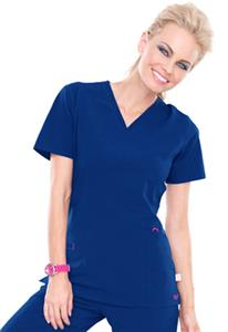 Smitten Women's Rock Goddess V-Neck Scrub Top