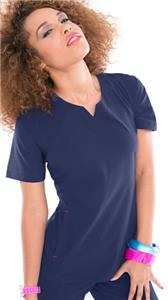 Smitten Women's Knock Out Scrub Tunic