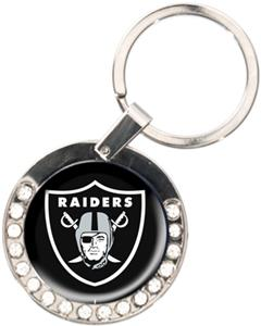 NFL Oakland Raiders Rhinestone Key Chain