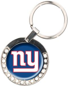 NFL New York Giants Rhinestone Key Chain