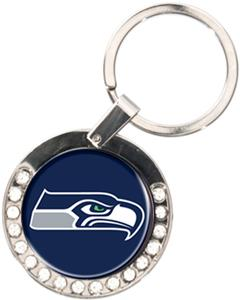 NFL Seattle Seahawks Rhinestone Key Chain