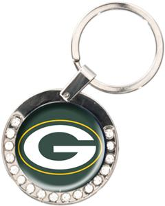 NFL Green Bay Packers Rhinestone Key Chain