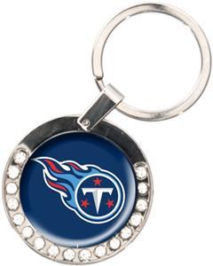NFL Tennessee Titans Rhinestone Key Chain