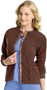 Urbane Women's Front Snap Fleece Jacket