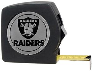 NFL Oakland Raiders 25' Tape Measure-Metal Logo