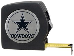 NFL Dallas Cowboys 25' Tape Measure-Metal Logo