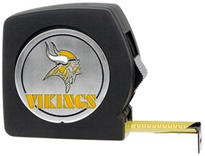 NFL Minnesota Vikings 25' Tape Measure-Metal Logo