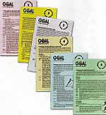 Soccer Conditioning Training Cards (set of 6)
