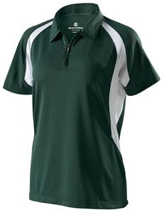 Holloway Ladies Circuit Zip Neck Polo Shirt