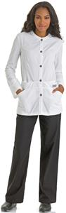 Urbane Women's Button Closure Lab Jacket