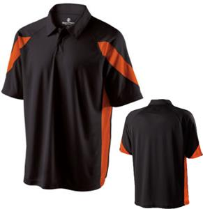 Holloway Thunder Close-Hole Micromesh Polo Shirt