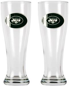 NFL New York Jets 2 Pc 16oz Classic Pilsner Set