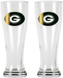 NFL Green Bay Packers 2 Pc Classic Pilsner Set