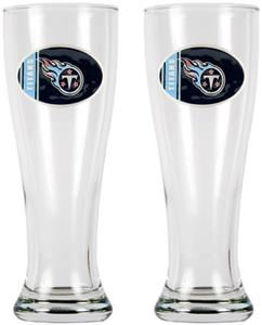 NFL Tennessee Titans 2 Pc 16oz Classic Pilsner Set