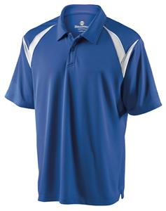 Holloway Laser Performance Pique' Polo Shirt