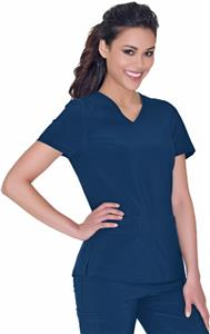 "Urbane Women's ""Motivate"" V-Neck Scrub Top"