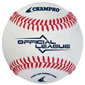 Champro CBB-40 Official Raised Seam Baseballs