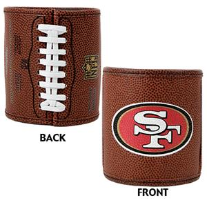 NFL San Francisco 49ers Football Can Holder Set