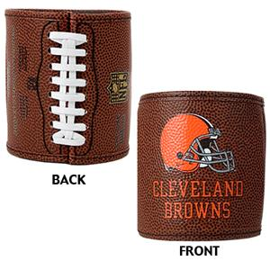 NFL Cleveland Browns 2pc Football Can Holder Set