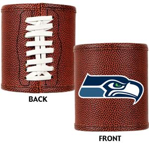 NFL Seattle Seahawks 2pc Football Can Holder Set