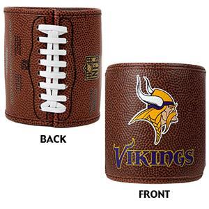 NFL Minnesota Vikings 2pc Football Can Holder Set