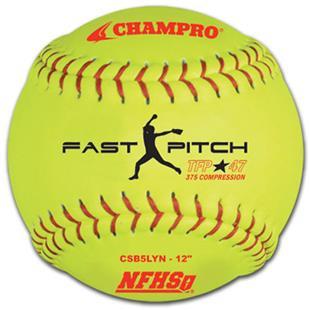 Tournament Fast Pitch Softballs NFHS CSB5LYN