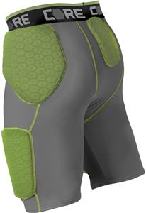 Alleson Adult Football 5 Padded Integrated Girdles