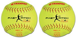 Champro ASA Tournament Fast Pitch Softballs