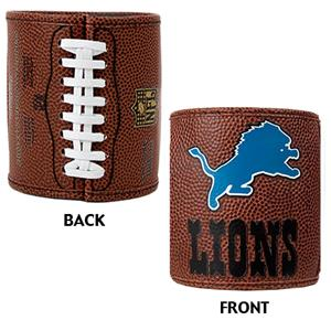 NFL Detroit Lions Football Can Holder Set