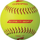 Champro Safe-T-Soft Yellow Softballs