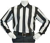 """Cliff Keen 2"""" Stripe Long Sleeve Officials Shirt"""