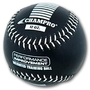 Champro Leather Weighted Training Softballs