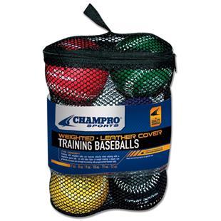 Champro Weighted Team Training Baseballs CBB7S
