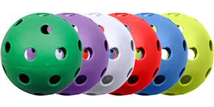 "Champro 9"" Poly Molded Baseballs 6 colors"
