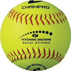 "12"" Kevlar Stitched Pitch Machine Softball CSBPMB"