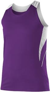 Alleson Women's/Girl's Loose Fit Track Tanks