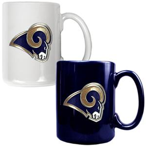 NFL St. Louis Rams Multi Color Mug Set