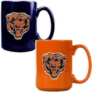 NFL Chicago Bears Multi Color Mug Set