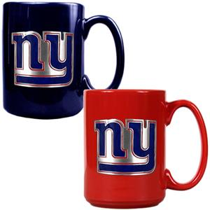 NFL New York Giants Multi Color Mug Set