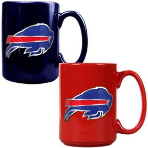 NFL Buffalo Bills Multi Color Mug Set